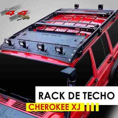 Roof Rack Ecotechne For Jeep Cherokee Xj