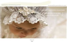 heirloom christening collections