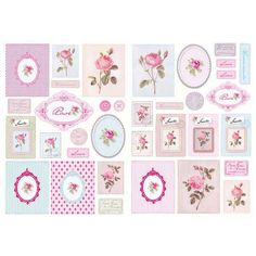 Classic Cut-outs - Roses - Papercrafts - Tilda Crafts