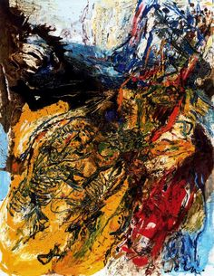 palmofmyhands: Asger Jorn, They Never Come Back, 1958