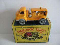MATCHBOX MOKO LESNEY No.28a - MINT IN BOX - http://www.matchbox-lesney.com/50974