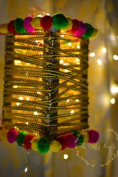 A Handmade Diwali lantern for Diwali is a great great way to add that festive vibe to your home. Apart from handpainted diyas and rice lights, lanterns are a good addition to the decor part. Diwali Lantern, Diwali Lamps, Diwali Lights, Diwali Diy, Diwali Craft, Diy Crafts For Gifts, Diy Home Crafts, Diy Arts And Crafts, Diwali Decoration Items