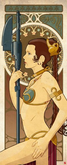 Princess Leia by Staermose Posters