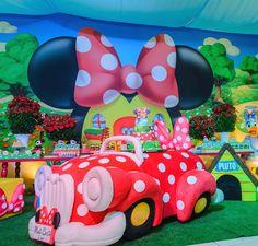 Encontrando Ideias: Festa Minnie!!