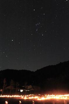 2011年3月11日に起こった東日本大震災から1年が経った。  前日までの雨からすっかり変わって、星々が輝く夜になった。  1年前のあの日、空がどんなだったかは、覚えていない。