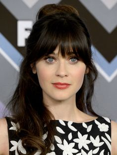 Top 10: Pantene Ambassador Zooey Deschanel's Best Hair Looks