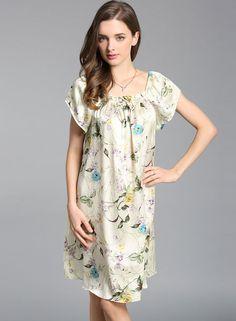 c10de2e918 Silk Sleepwear, Nightwear, Sleep Dress, Silk Nightgown, Nightgowns For Women,  Silk