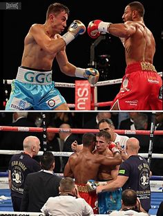 A great effort from Kell Brook stepping up against GGG on Saturday - he really took the fight to him and did Great Britain proud!  #GGG #Golovkin #KellBrook #British #boxing #profight #o2 #london #GGGBrook