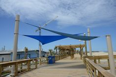 Carolina Beach Boardwalk, Projects To Try, Patio, Outdoor Decor, Terrace