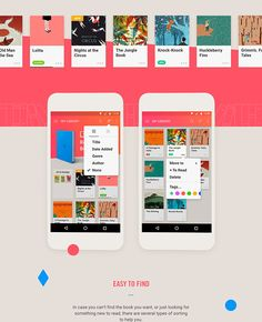 Reader Mobile App, UI, UX, Animation – MaterialUp