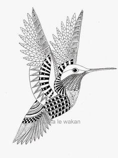 Birds tattoo - Hummingbird Coloring Pages – Birds tattoo Bird Coloring Pages, Printable Adult Coloring Pages, Doodle Coloring, Mandala Coloring Pages, Coloring Books, Coloring Sheets, Colouring, Tattoo Hummingbird, Hummingbird Colors
