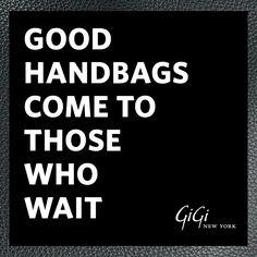 GiGi New York: Maniac Monday Mantra: Retail Therapy Needed!