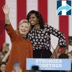 Hillary Clinton & Michelle Obama Elecciones Estadounidenses 2016 Vote!