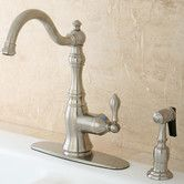 Found it at Wayfair - American Classic Gourmetier Single Handle Kitchen Faucet