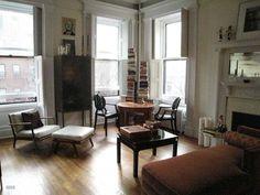 Brooklyn Heights living room.
