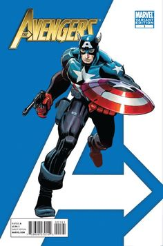 Avengers Vol. 4 # 1 (Variant) by John Romita Jr. & Klaus Janson