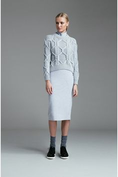 Finders Keepers WHITE LIES KNIT SEAFOAM - BNKR