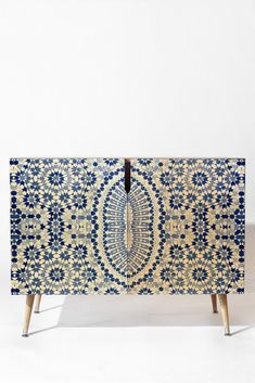 Amy Sia Morocco Navy Credenza | DENY Designs Home Accessories