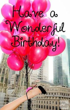Wonderful birthday                                                                                                                                                                                 More
