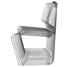 Four Dining Chair, Designed by Verner Panton for Fritz Hansen 1
