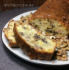 Bizcocho de roquefort y nueces » Divina CocinaRecetas fáciles, cocina andaluza y del mundo. » Divina Cocina
