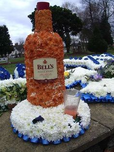 #Strange Floral Tributes #weddings trendhunter.com  Like repin share,Thanks :)