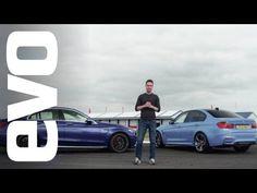 BMW M3 v Mercedes-Benz C63 S AMG   evo DEADLY RIVALS - YouTube