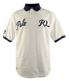 POLO RALPH LAUREN Polo Ralph Lauren Men\u0026#39;s Big And Tall Short Sleeve Varsity Polo Shirt.