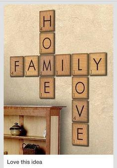 scrabble buchstaben von vtwonen ber scrabble deko pinterest wohnzimmer. Black Bedroom Furniture Sets. Home Design Ideas