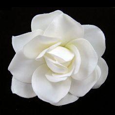 Classic Gardenia Hair Flower - Serendipity Tiaras