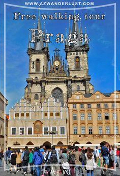 O passeio dura cerca de 3 horas e passa pelos principais pontos da cidade. Começou pela Praça da Cidade Velha (Staroměstské náměstí, em tcheco), passou pela Casa da Madonna Negra (Černá Madona, em tcheco) e pelo Museu do Cubismo (Dům U Černé Matky Boží, em tcheco). Também pela Avenida Václavské nám (onde fica o Museu Nacional de Praga, Národní muzeum), por várias Sinagogas (Synagoga, em tcheco) e Bairro Judeu, pela Casa Municipal (Obecní dům, em tcheco) e Teatro Divadlo (Divadlo Hybernia, em…