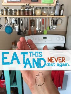 REAL LIFE: Never Diet Again!