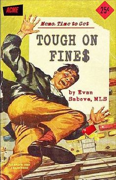 As Bob fell, he reflected on his folly at joining the Empire State Branch Library