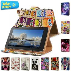 7.92$  Watch here - http://alir4r.shopchina.info/go.php?t=32597325360 - 7'' Tablet Leather Case For Huawei MediaPad 7 Youth S701W cover ,Girl Printed Universal tablet cover For Huawei Tablet Bag case  #magazine
