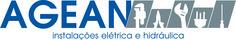 Criação de Logotipo - AGEAN . Instalações Elétrica e Hidráulica