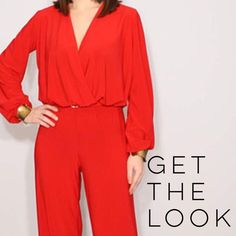 ✂️ Comfortable/Stylish Plus Size Jumpsuit This is an amazingly comfortable plus size jumpsuit made of stretchy fabric. The comfortable fit in no way compromises the style, as this beauty is perfect for any event. It's a great basic piece in a beautiful shade of red that is ready to be accessorized. It has 3/4 sleeves and a zip front, with pockets...gotta love that! I only wore it once and wish I could keep it, but I've lost weight and it's too big.  Size 1X, but could probably work for a 2X…