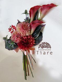 雅やかな和のブーケ|おすすめのブーケ&会場装花|ザ・ウエディング