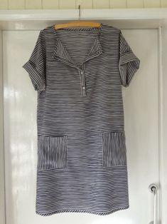 Stripy dress - stylish dress book