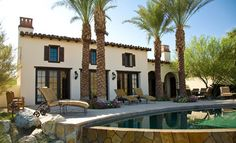 Rancho Mirage Villas - mediterranean - exterior - los angeles - Sennikoff Architects