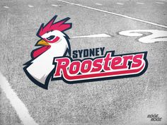 Sydney Roosters by Rogé Rogé, via Behance