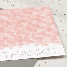 Printable thank you card | via lovevsdesign.com