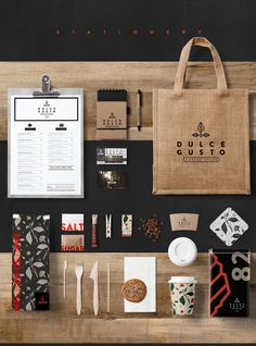 DULCE Gusto / Coffee store / Brand identity on Behance