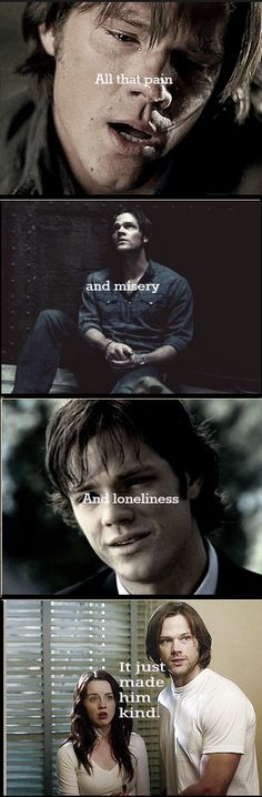 Sam Winchester || Doctor Who quote.