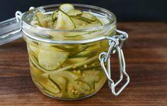 Bread & Butter Pickles via Andrew Zimmern