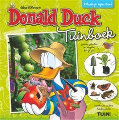 """Het Weekblad Donald Duck bestaat zestig jaar! Behalve de """"gewone"""" stripverhalen is er ook het Donald Duck tuinboek voor kinderen die een moestuin willen beginnen. Met strips ! #Donald_Duck #tuinboek #moestuin #kinderen"""