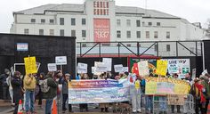 Save Earls Court campaign pictures  Thanks God they failed to save it!