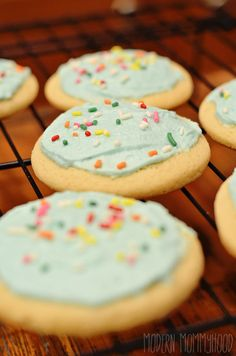 Soft and Fluffy Sugar Cookies - close copycat to store bought sugar cookies! Can be decorated for any holiday!