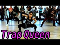 """Trap Queen"" by Fetty Wap - MattSteffanina Choreography Just Dance, Dance Moms, Trap Queen, Hip Hop Youtube, Hip Hop Dance Classes, Asia Monet Ray, Step Workout, Dance Routines, Dance Choreography"