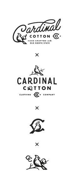 Cardinal cotton logo sheet