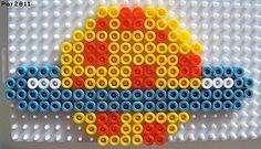 Robot space 2/3 perler beads by Les loisirs de Pat